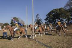 PoloCrosse WorldCup Australia Foto de archivo libre de regalías