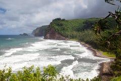 Pololu-Tal, große Insel, Hawaii stockfoto