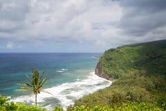Pololu Valley, Big Island, Hawaii Stock Image