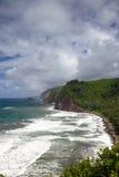 Pololu Valley, Big Island, Hawaii Royalty Free Stock Photo