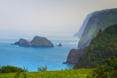 Pololu Valley lookout Stock Photography