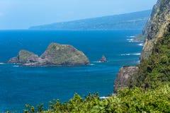 Pololu Valley, North Coast of Hawaii Royalty Free Stock Photos