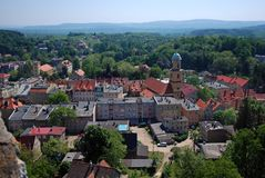 Polonia Bolkow Imagen de archivo libre de regalías