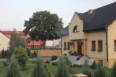 Polonia, casa Fotos de archivo