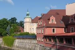 Polonia, ciudad de Klodzko, un Silesia más bajo Imagen de archivo libre de regalías