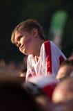 Polonia contra el emparejamiento de Grecia en el euro 2012 Foto de archivo