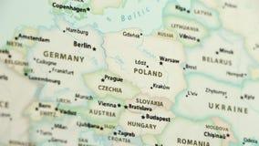 Polonia en un mapa con Defocus metrajes