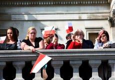 Polonia está de luto. Fotografía de archivo libre de regalías