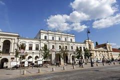 Polonia House at Krakowskie Przedmiescie, Warsaw Royalty Free Stock Photos