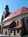 Polonia, Leszno - la iglesia de San Juan Bautista en la ciudad de Leszno fotos de archivo libres de regalías