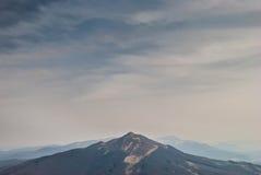 Polonina Carynska. The peak of Polonina Carynska in Bieszczady Mountains in south-eastern Poland Stock Photography