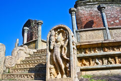 Polonnaruwa古老Vatadage 免版税库存照片