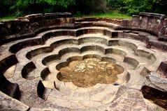 Polonnaruwa荷花池 图库摄影