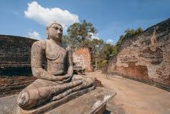 Polonnaruwa αρχαίο Vatadage στη Σρι Λάνκα στοκ φωτογραφίες