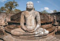 Polonnaruwa αρχαίο Vatadage στη Σρι Λάνκα στοκ φωτογραφία με δικαίωμα ελεύθερης χρήσης