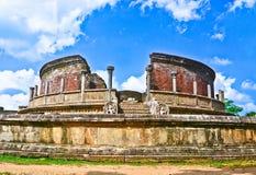 Polonnaruwa altes Vatadage, Sri Lanka Lizenzfreie Stockfotos