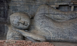 Polonnaruwa Ancient Gal Vihara Royalty Free Stock Photography