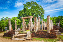 The Polonnaruwa Atadage. Stock Photo