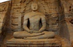 Polonnaruwa Bouddha Photo libre de droits