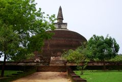 Polonnaruwa Dagoba Royalty Free Stock Photos