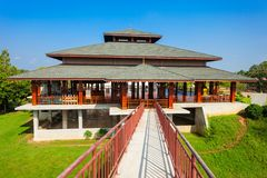 Polonnaruwa dans Sri Lanka Images libres de droits