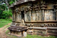 Polonnaruwa detalj royaltyfria foton