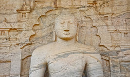 Polonnaruwa Gal Vihara, Sri Lanka Stockfoto