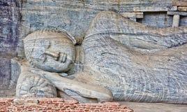 Polonnaruwa Gal Vihara, Sri Lanka Stockbild