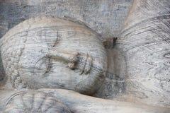 Polonnaruwa Gal Vihara Sri Lanka Stockfoto