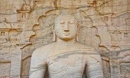 Polonnaruwa Gal Vihara,  Sri Lanka Stock Photo
