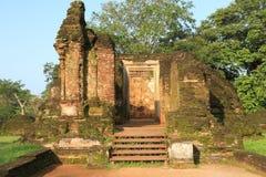 Polonnaruwa i Sri Lanka Arkivfoto
