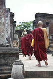 Polonnaruwa munkar Royaltyfri Bild