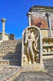 Polonnaruwa Oude Vatadage Stock Afbeelding