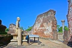 Polonnaruwa Oude Vatadage Stock Foto