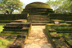 Polonnaruwa Ruin Royalty Free Stock Image