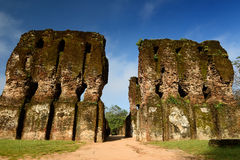Polonnaruwa ruin, Royal Palace, Sri Lanka Royalty Free Stock Photography