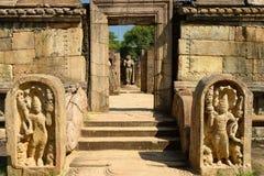 Polonnaruwa ruin, Vatadage (Round House), Sri Lanka Stock Photos