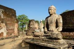 Polonnaruwa ruin, Vatadage (Round House), Sri Lanka Royalty Free Stock Photography