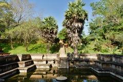 Polonnaruwa ruina, Royal Palace, Sri Lanka Zdjęcie Royalty Free
