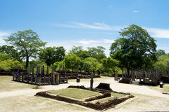 Polonnaruwa, Sri Lanka Royalty-vrije Stock Fotografie