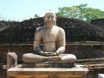 Polonnaruwa in Sri Lanka Stock Afbeelding