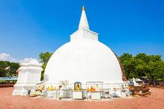 Polonnaruwa in Sri Lanka. Somawathiya Chaitya or Somawathi Rajamaha Viharaya is a Buddhist Stupa and Temple situated in the ancient city of Polonnaruwa, Sri Stock Image