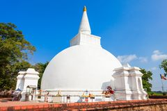 Polonnaruwa in Sri Lanka. Somawathiya Chaitya or Somawathi Rajamaha Viharaya is a Buddhist Stupa and Temple situated in the ancient city of Polonnaruwa, Sri Royalty Free Stock Image