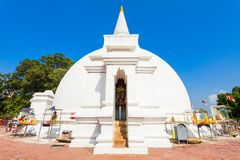 Polonnaruwa in Sri Lanka. Somawathiya Chaitya or Somawathi Rajamaha Viharaya is a Buddhist Stupa and Temple situated in the ancient city of Polonnaruwa, Sri Stock Images