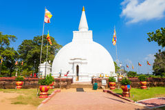 Polonnaruwa in Sri Lanka. Somawathiya Chaitya or Somawathi Rajamaha Viharaya is a Buddhist Stupa and Temple situated in the ancient city of Polonnaruwa, Sri Royalty Free Stock Photography