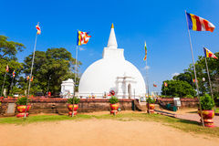 Polonnaruwa in Sri Lanka. Somawathiya Chaitya or Somawathi Rajamaha Viharaya is a Buddhist Stupa and Temple situated in the ancient city of Polonnaruwa, Sri Stock Photo