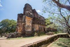 Polonnaruwa temple, Lankatilaka. Historical architecture in Sri Lanka, Ceylon stock image