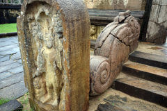 Polonnaruwa temple Stock Image