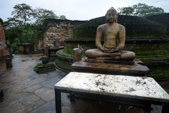 Polonnaruwa temple Stock Photo