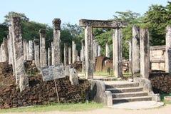 Polonnaruwa UNESCO site Sri Lanka.  Stock Photography